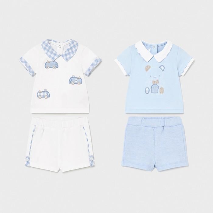 Комплекты детской одежды Mayoral Newborn Комплект (4 предмета) 1642 футболки и топы bodo футболка 4 109u 4 110u 4 111u