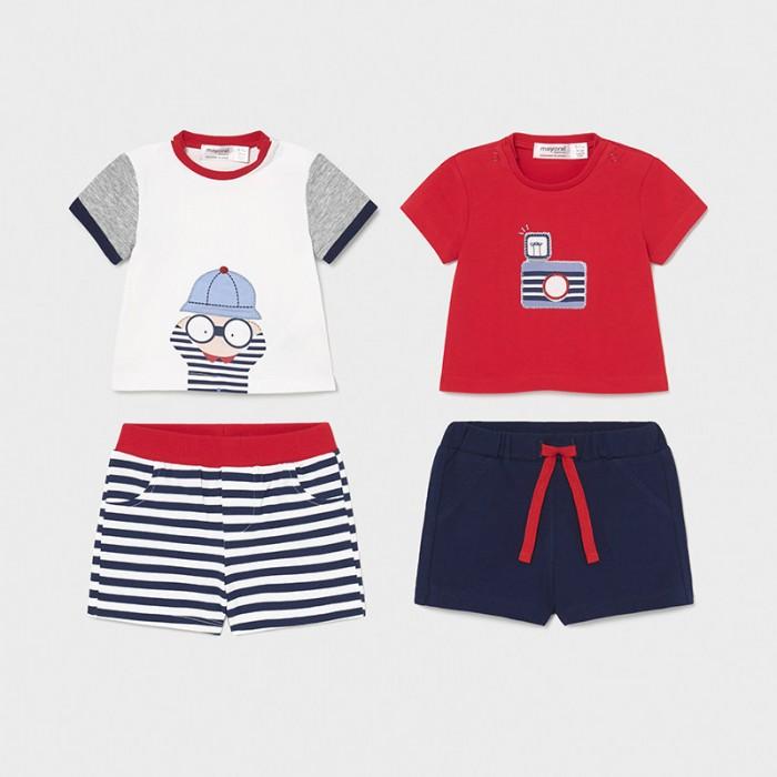 Комплекты детской одежды Mayoral Newborn Комплект (4 предмета) 1644 футболки и топы bodo футболка 4 109u 4 110u 4 111u