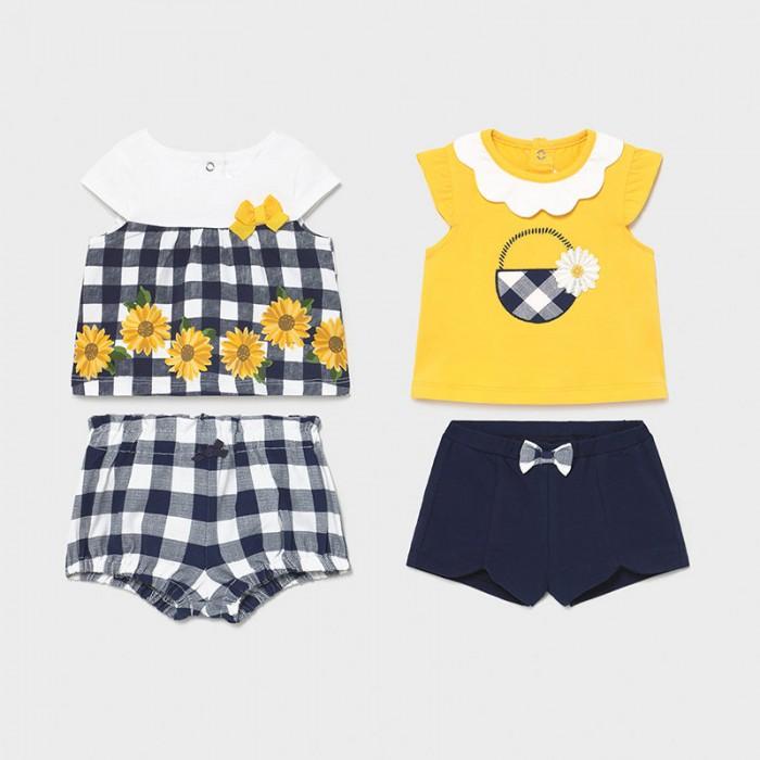 Комплекты детской одежды Mayoral Newborn Комплект (4 предмета) 1648 футболки и топы bodo футболка 4 109u 4 110u 4 111u