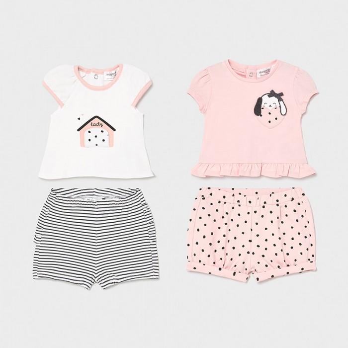 Комплекты детской одежды Mayoral Newborn Комплект (4 предмета) 1649 футболки и топы bodo футболка 4 109u 4 110u 4 111u