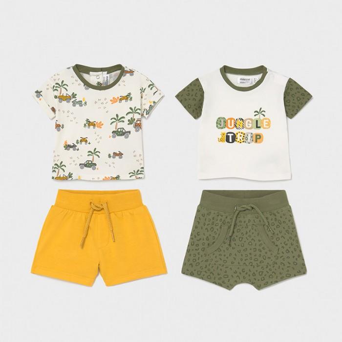 Комплекты детской одежды Mayoral Newborn Комплект (4 предмета) 1657 футболки и топы bodo футболка 4 109u 4 110u 4 111u