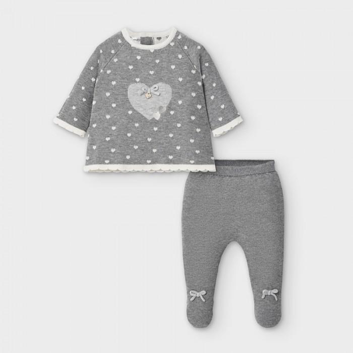 Mayoral Newborn Комплект для мальчика: брюки и фуфайка 2557