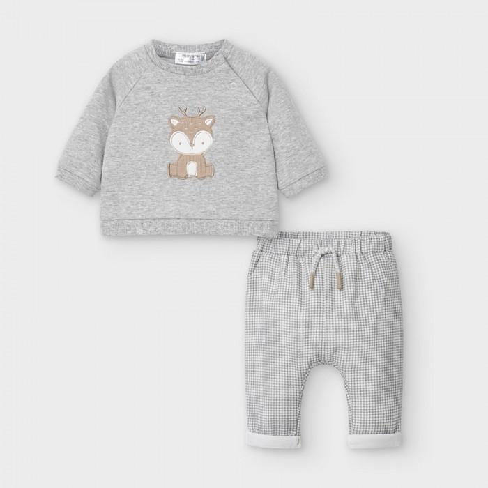 Mayoral Newborn Комплект для мальчика: брюки и пуловер 2560