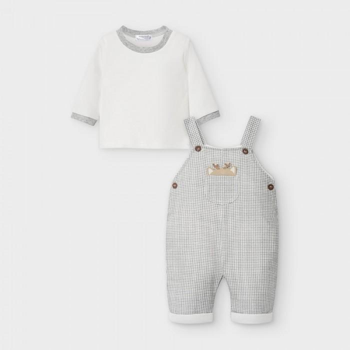 Mayoral Newborn Комплект для мальчика: комбинезон и фуфайка 2637