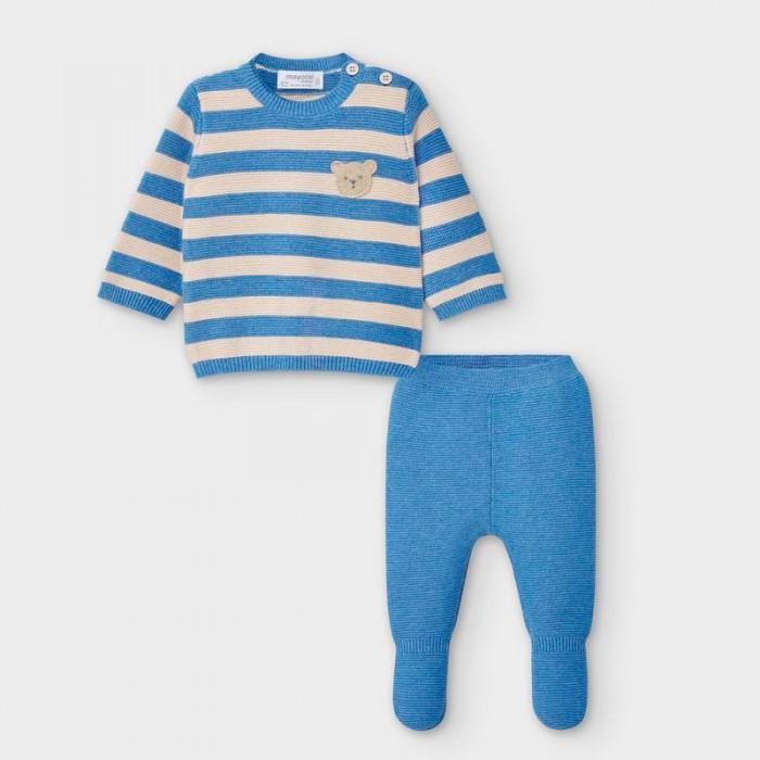 Фото - Комплекты детской одежды Mayoral Newborn Комплект для мальчика: ползунки и фуфайка 2554 распашонки и ползунки bonito kids ползунки для мальчика коала