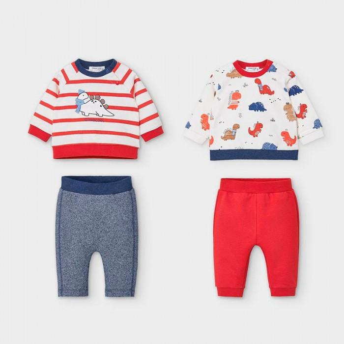 Mayoral Newborn Комплект для мальчика: брюки и пуловер 2573