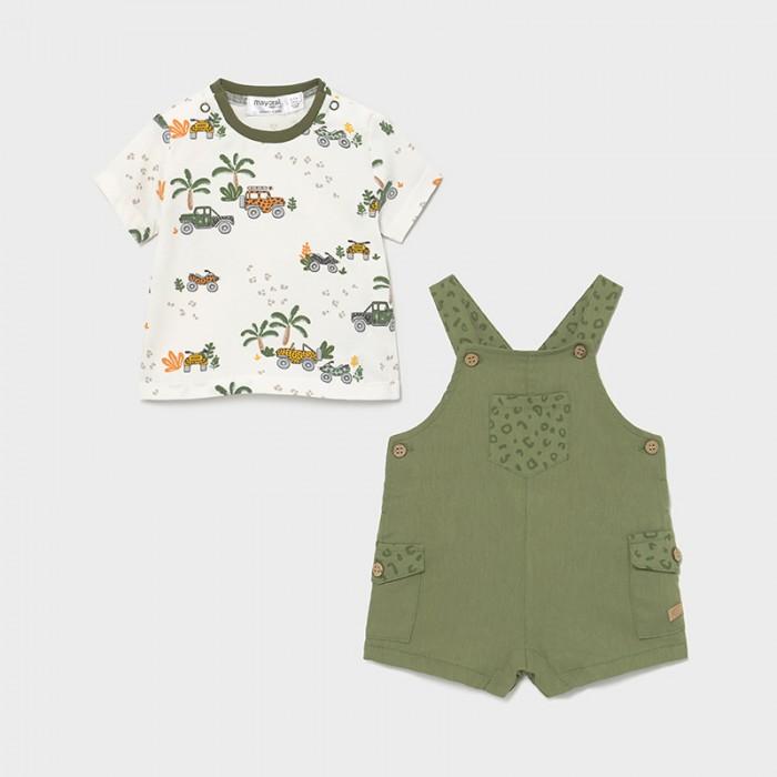 Фото - Комплекты детской одежды Mayoral Newborn Комплект: комбинезон и футболка 1656 комплекты детской одежды mayoral newborn ползунки и фуфайка 1560