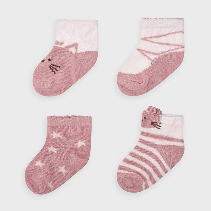 Белье и колготки Mayoral Newborn Носки для девочки (4 пары) 9306
