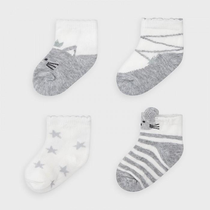 Mayoral Newborn Носки для девочки (4 пары) 9306