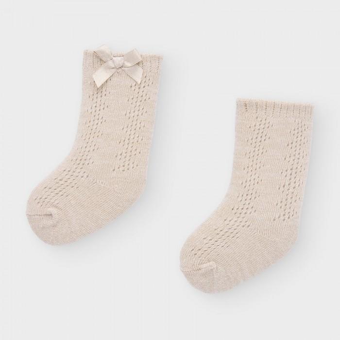 Белье и колготки Mayoral Newborn Носки для девочки 9308