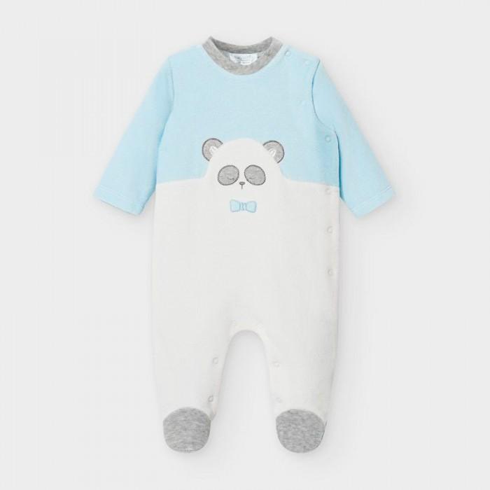 рубашка для мальчика mayoral цвет молочный 3144 35 5h размер 116 6 лет Домашняя одежда Mayoral Newborn Пижама для мальчика 2766