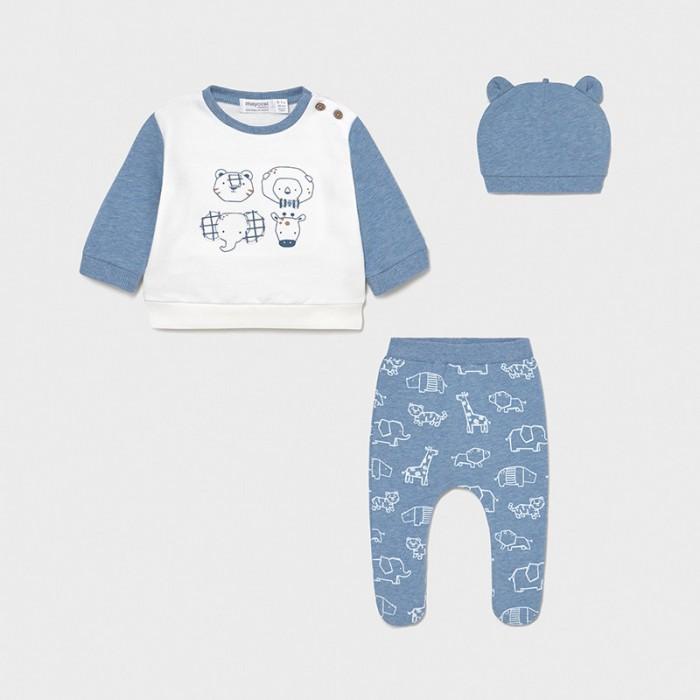 Фото - Комплекты детской одежды Mayoral Newborn Распашонка, ползунки и шапка 1567 комплекты детской одежды mayoral newborn ползунки и фуфайка 1560