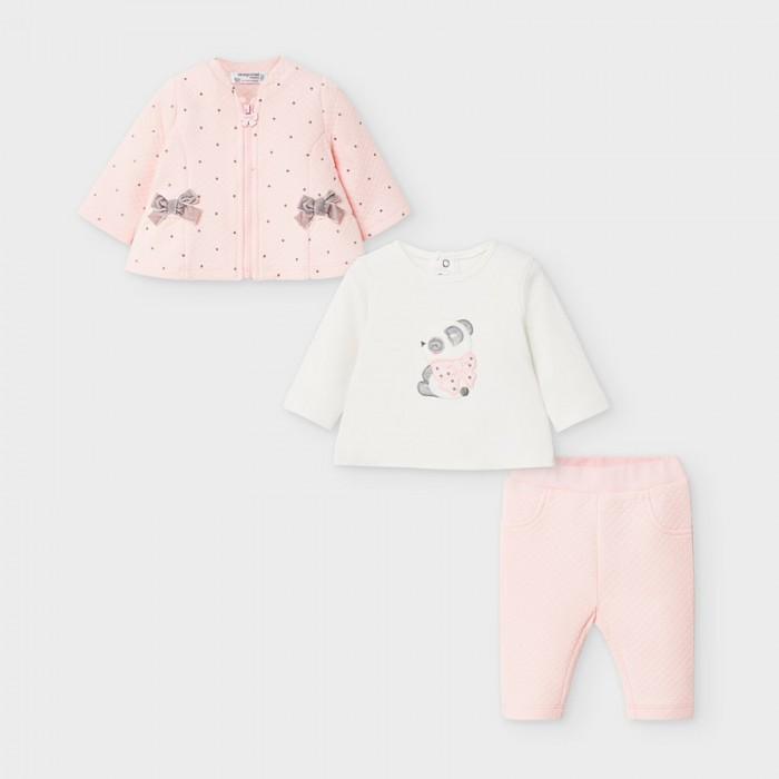 Mayoral Newborn Комплект для девочки: фуфайка 2 шт. и леггинсы 2 шт. 2628