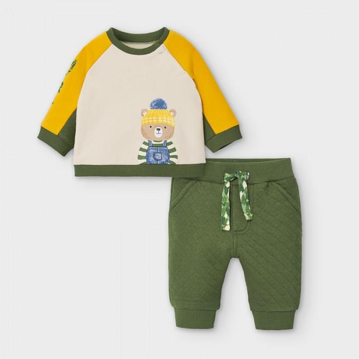 Mayoral Newborn Комплект для мальчика: фуфайка и комбинезон 2647