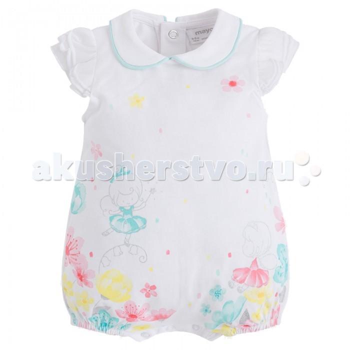 Детская одежда , Боди и песочники Mayoral Песочник для девочки 1736 арт: 444179 -  Боди и песочники