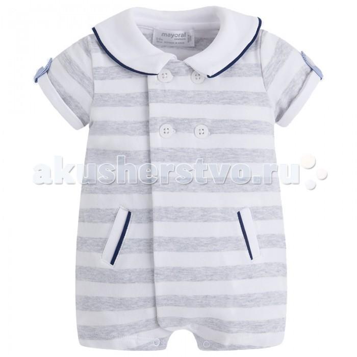 Детская одежда , Боди и песочники Mayoral Песочник для мальчика 1614 арт: 444054 -  Боди и песочники
