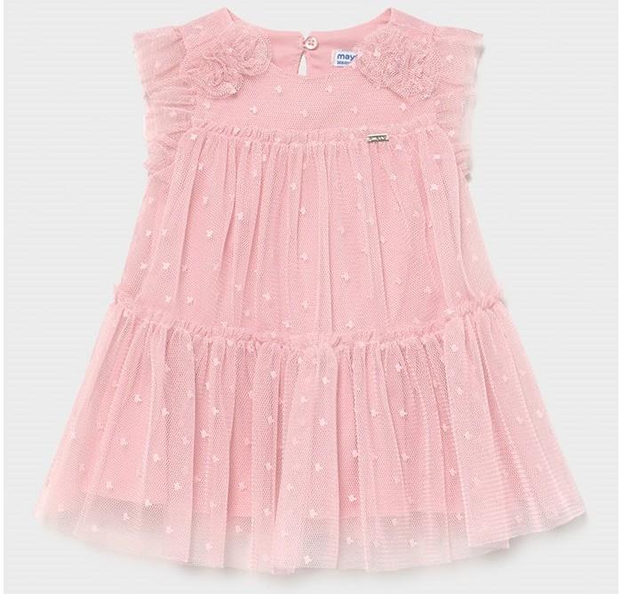 Платья и сарафаны Mayoral Платье для девочки 1957 платья и сарафаны mayoral newborn платье 1811