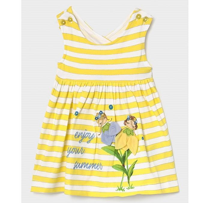 Платья и сарафаны Mayoral Платье для девочки 1991 платья и сарафаны mayoral newborn платье 1811
