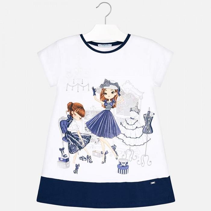 Купить Детские платья и сарафаны, Mayoral Платье для девочки 3945