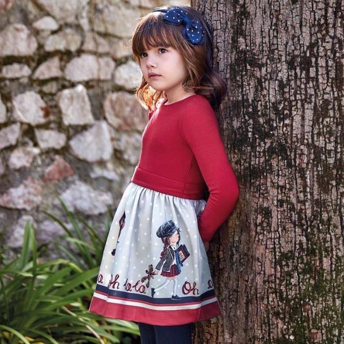 Mayoral Платье для девочки 4942