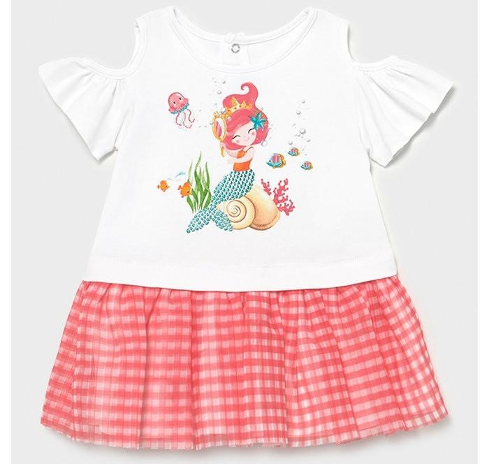 платья и сарафаны ёмаё платье для девочки стильняшки 12 301 Платья и сарафаны Mayoral Платье для девочки Русалка 1993