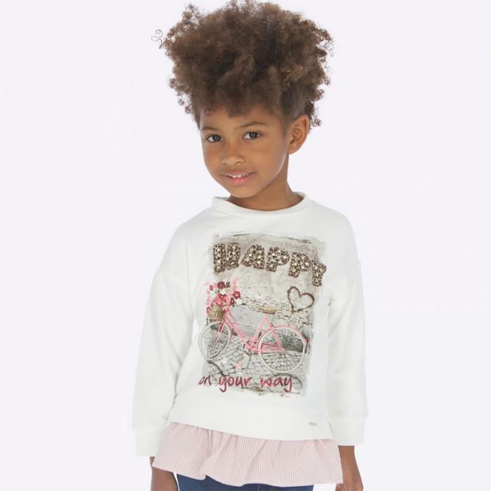 Купить Толстовки и свитшоты, Mayoral Пуловер для девочки 4403