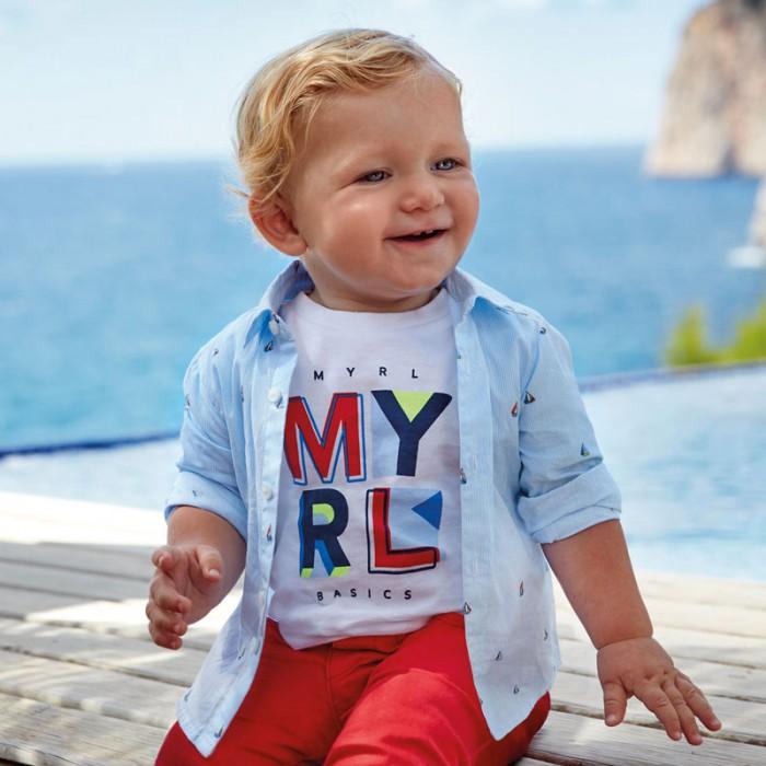 Купить Рубашки, Mayoral Рубашка для мальчика 1166