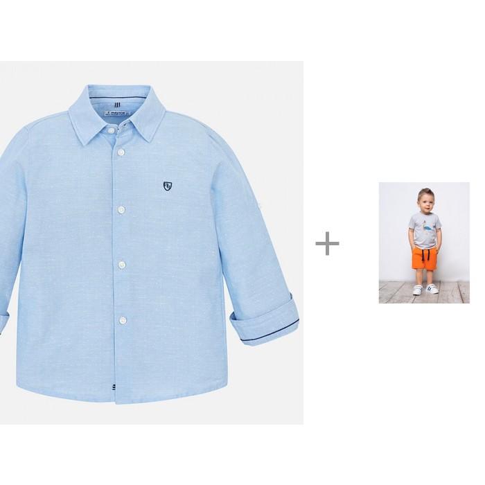 Mayoral Рубашка для мальчика 141 с шортами Kogankids 212-335