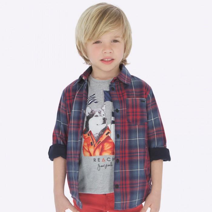 Mayoral Рубашка для мальчика 4117