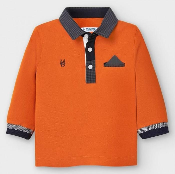рубашка для мальчика mayoral цвет молочный 3144 35 5h размер 116 6 лет Рубашки Mayoral Рубашка-поло для мальчика 2121