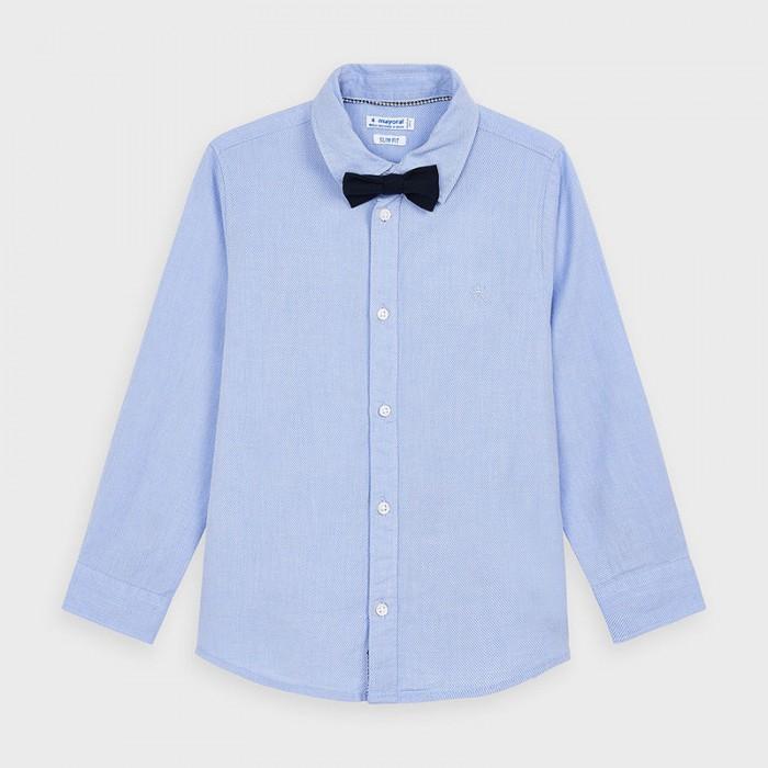 Рубашки Mayoral Рубашка с бабочкой 4139