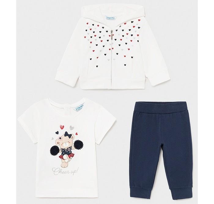 Фото - Комплекты детской одежды Mayoral Спортивный костюм для девочки 1843 комплекты детской одежды клякса спортивный костюм для девочки 22 2062