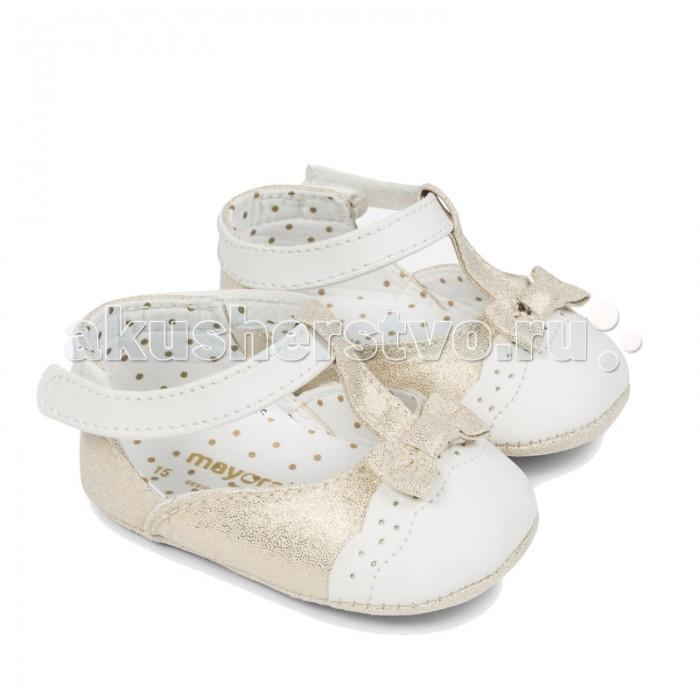 Обувь и пинетки Mayoral Туфельки для девочки 9806 mayoral пальто