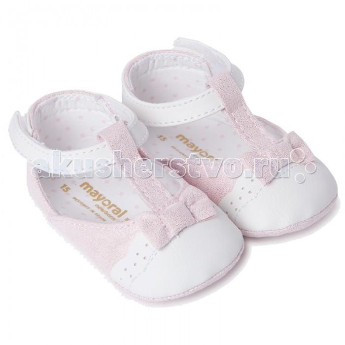 Детская одежда , Обувь и пинетки Mayoral Туфельки для девочки 9806 арт: 445354 -  Обувь и пинетки