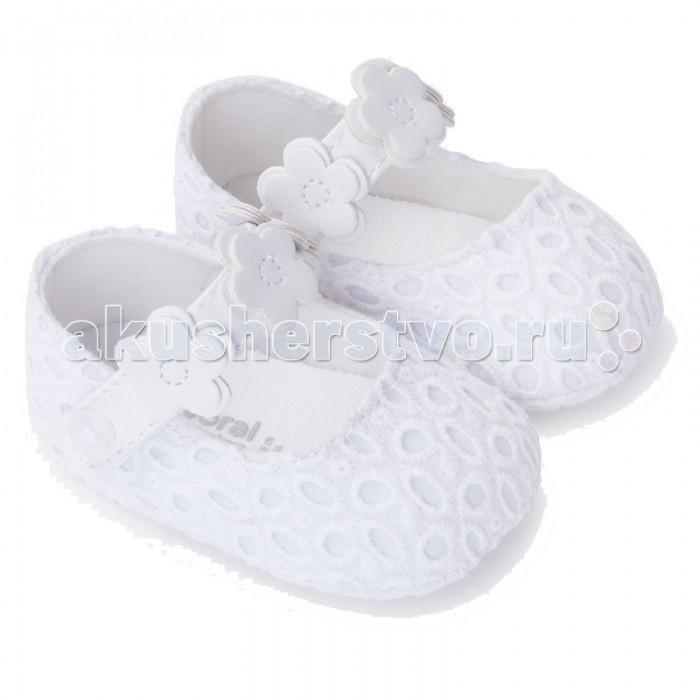 Детская одежда , Обувь и пинетки Mayoral Туфельки для девочки 9812 арт: 445474 -  Обувь и пинетки