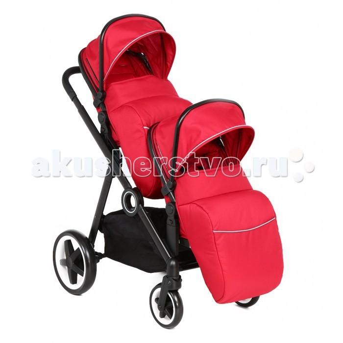 Коляски для двойни и погодок McCan Прогулочная коляска для двойни М-11 коляски для двойни и погодок egg