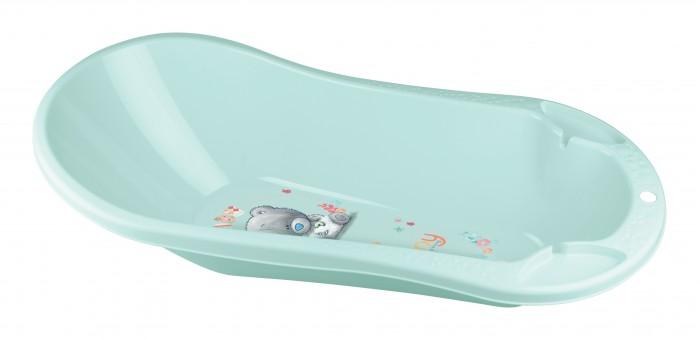 детские ванночки пластишка ванна детская с клапаном для слива воды Детские ванночки Me to You Ванна детская с клапаном для слива воды и аппликацией