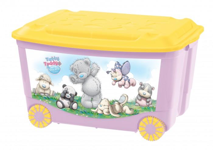 Ящики для игрушек Me to You Ящик для игрушек на колесах с аппликацией 580Х390Х335 мм ящики для игрушек tomjerry ящик универсальный с аппликацией 33 5x24x15 5 см