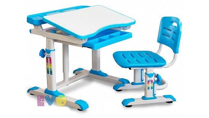 Детская мебель , Столы и стулья Mealux Комплект мебели: столик и стульчик BD-09 (столешница белая) арт: 441589 -  Столы и стулья