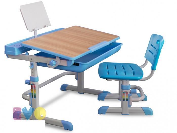 Детская мебель , Столы и стулья Mealux Комплект мебели: столик и стульчик EVO-04 XL (столешница клен) арт: 441749 -  Столы и стулья