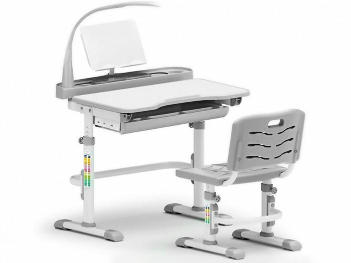 Mealux Комплект парта и стульчик EVO-18 с лампой