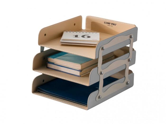 Mealux Лоток для бумаг KS-05Лоток для бумаг KS-05Mealux Лоток для бумаг KS-05 поможет поддерживать порядок на вашем столе.  Аккуратная строчка и качественная искусственная кожа, благодаря этому он лоток впишется в любой интерьер.<br>