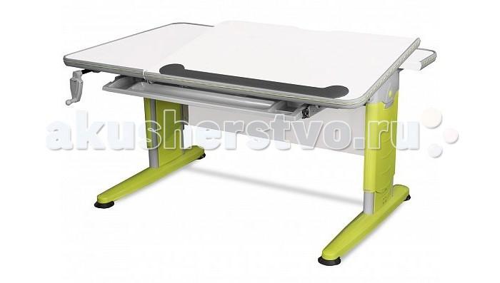 Детская мебель , Столы и стулья Mealux Парта Detroit (столешница белая) арт: 441529 -  Столы и стулья