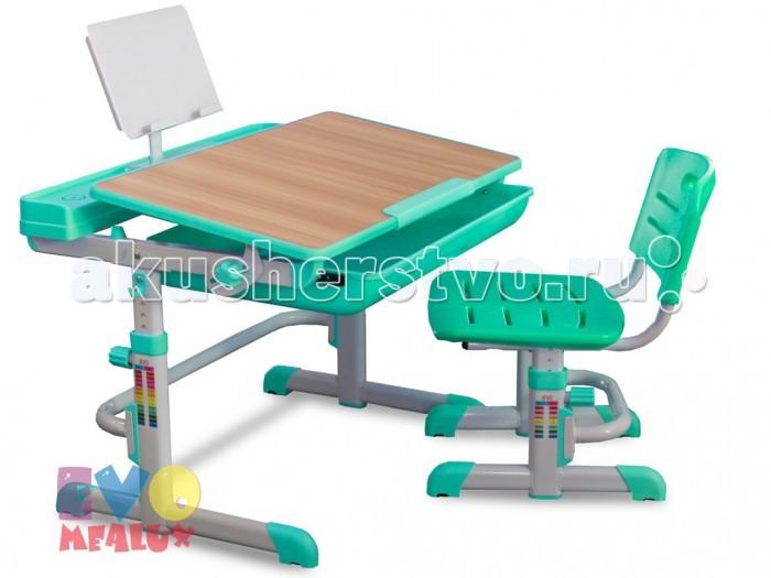 Школьные парты Mealux Комплект мебели столик и стульчик EVO-04