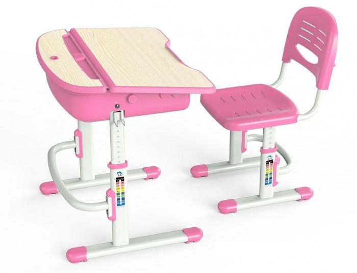 Mealux Комплект мебели столик и стульчик EVO-02Комплект мебели столик и стульчик EVO-02Mealux Комплект мебели столик и стульчик EVO-02  Барьер удержит книги и тетради на столе с наклоном. Большой ящик-органайзер для тетрадей и канцелярии, позволит держать все в одном месте. Крючок для портфеля, даст ребенку возможность держать все рядом.  Газ-лифт обеспечит плавность и безопасность закрывания столешницы. Задняя полочка с пеналами и разъемами для аксессуаров.  Размеры: Ширина, см: 70,5 Глубина, см: 54,5 Max высота столешницы: 76 см. Min высота столешницы: 54 см. Регулировка высоты: Да Угол наклона: 0-6,5 град. Высота, см: 54 - 76<br>