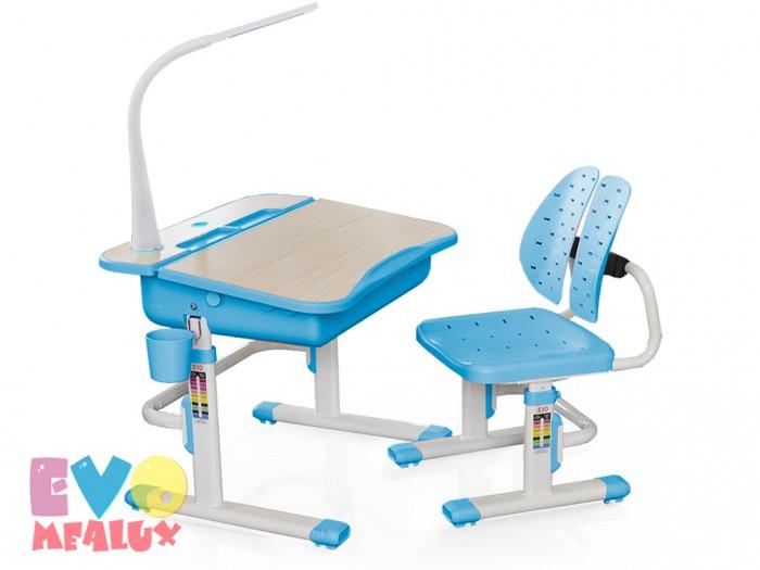 Mealux Комплект мебели столик и стульчик EVO-03 с лампой