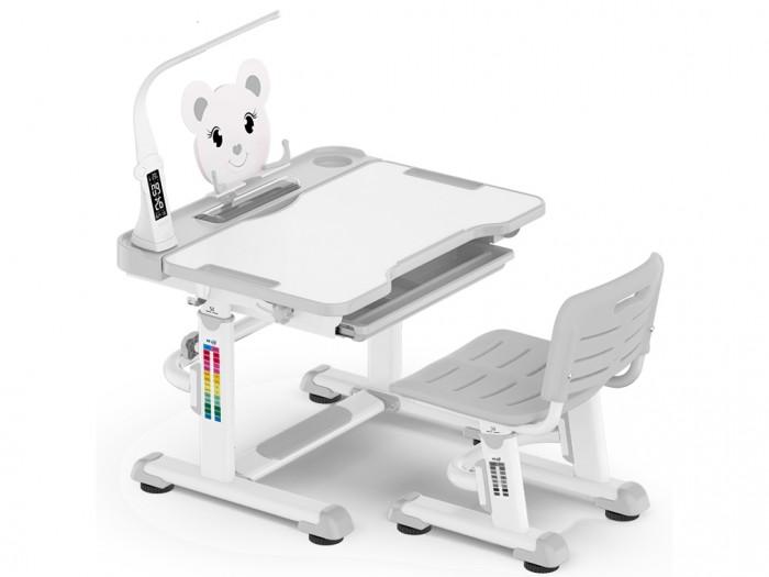 Mealux Комплект мебели столик и стульчик EVO-04 XL с лампой