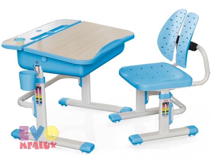 Mealux Комплект мебели столик и стульчик EVO-05 с лампой