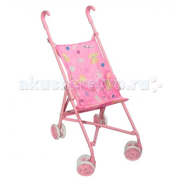 Коляски для кукол Melobo (Melogo) трость 9302S коляска для кукол трость melobo 9302d purple фиолетовая