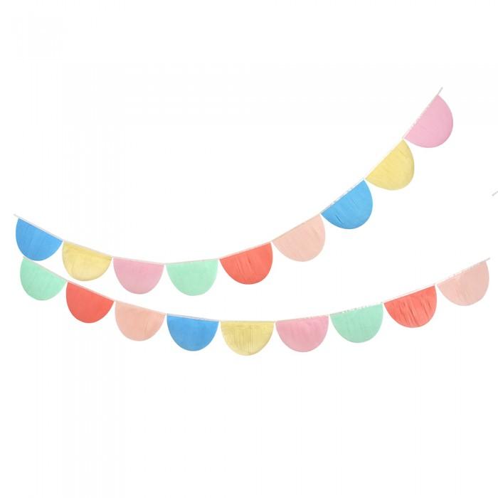 Товары для праздника MeriMeri Гирлянда из гофрированной бумаги